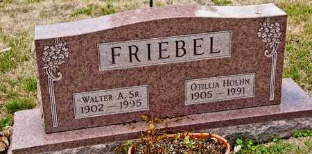 FRIEBEL SR, WALTER A - Richland County, Ohio | WALTER A FRIEBEL SR - Ohio Gravestone Photos