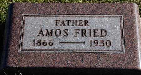 FRIED, AMOS - Richland County, Ohio | AMOS FRIED - Ohio Gravestone Photos