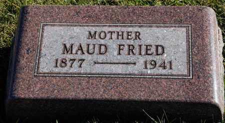 FRIED, MAUD - Richland County, Ohio | MAUD FRIED - Ohio Gravestone Photos