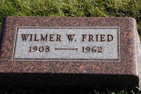 FRIED, WILMER W - Richland County, Ohio | WILMER W FRIED - Ohio Gravestone Photos