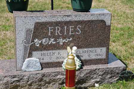 FRIES, HELEN F - Richland County, Ohio | HELEN F FRIES - Ohio Gravestone Photos