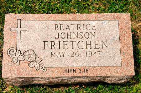 JOHNSON FRIETCHEN, BEATRICE - Richland County, Ohio | BEATRICE JOHNSON FRIETCHEN - Ohio Gravestone Photos