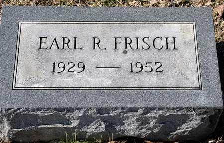 FRISCH, EARL R - Richland County, Ohio | EARL R FRISCH - Ohio Gravestone Photos