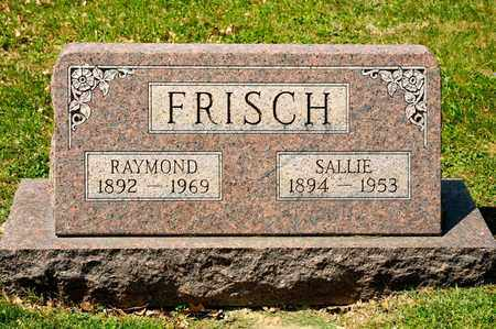 FRISCH, SALLIE - Richland County, Ohio | SALLIE FRISCH - Ohio Gravestone Photos