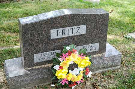 FRITZ, HAROLD - Richland County, Ohio | HAROLD FRITZ - Ohio Gravestone Photos
