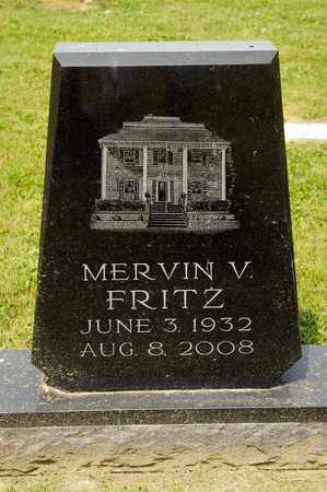 FRITZ, MERVIN V - Richland County, Ohio | MERVIN V FRITZ - Ohio Gravestone Photos