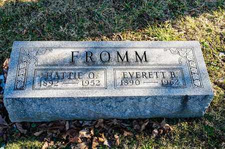 FROMM, HATTIE O - Richland County, Ohio | HATTIE O FROMM - Ohio Gravestone Photos