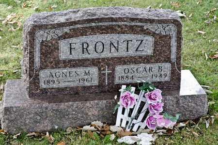 FRONTZ, AGNES M - Richland County, Ohio | AGNES M FRONTZ - Ohio Gravestone Photos