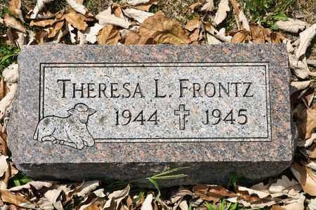 FRONTZ, THERESA L - Richland County, Ohio | THERESA L FRONTZ - Ohio Gravestone Photos