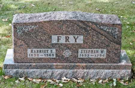 FRY, STEPHEN W - Richland County, Ohio | STEPHEN W FRY - Ohio Gravestone Photos