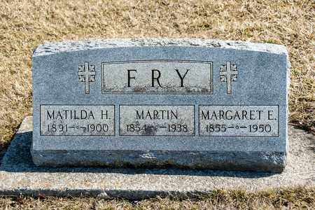 FRY, MARGARET E - Richland County, Ohio | MARGARET E FRY - Ohio Gravestone Photos