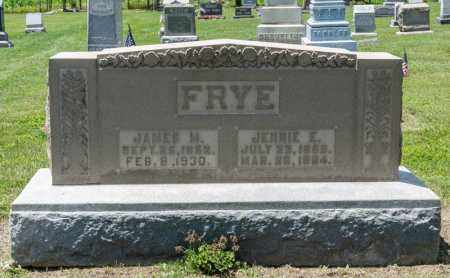 FRYE, JAMES M - Richland County, Ohio | JAMES M FRYE - Ohio Gravestone Photos