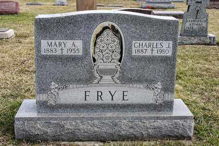 FRYE, MARY A - Richland County, Ohio | MARY A FRYE - Ohio Gravestone Photos