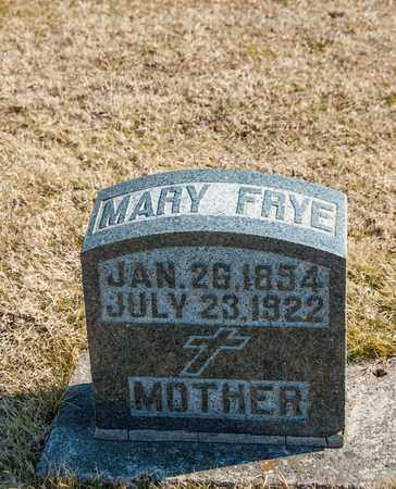 FRYE, MARY - Richland County, Ohio | MARY FRYE - Ohio Gravestone Photos