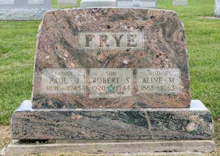 FRYE, ROBERT S - Richland County, Ohio | ROBERT S FRYE - Ohio Gravestone Photos