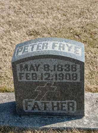 FRYE, PETER - Richland County, Ohio | PETER FRYE - Ohio Gravestone Photos