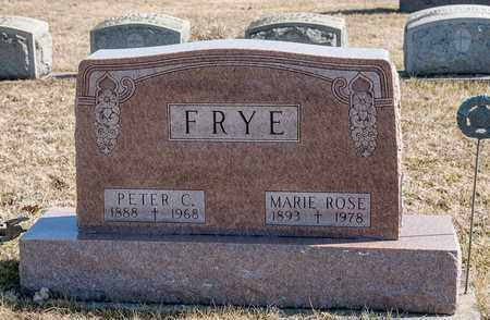 FRYE, MARIE ROSE - Richland County, Ohio | MARIE ROSE FRYE - Ohio Gravestone Photos