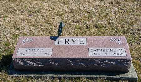 FRYE, PETER C - Richland County, Ohio | PETER C FRYE - Ohio Gravestone Photos