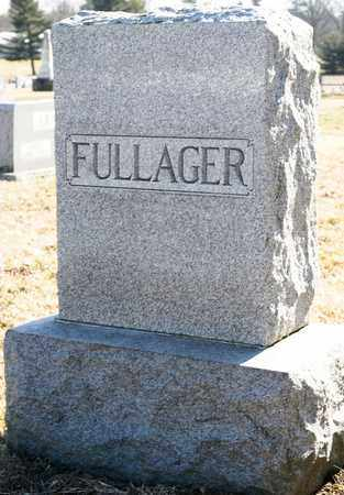 FULLAGER SR, WILLIAM J - Richland County, Ohio | WILLIAM J FULLAGER SR - Ohio Gravestone Photos
