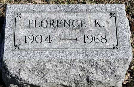 FULLAGER, FLORENCE K - Richland County, Ohio | FLORENCE K FULLAGER - Ohio Gravestone Photos