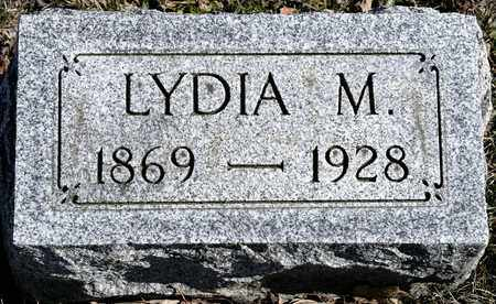 FULLAGER, LYDIA M - Richland County, Ohio | LYDIA M FULLAGER - Ohio Gravestone Photos