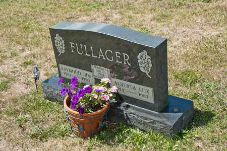 FULLAGER, ALBERTA - Richland County, Ohio | ALBERTA FULLAGER - Ohio Gravestone Photos