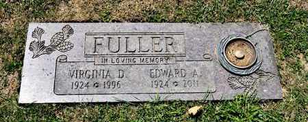 FULLER, EDWARD A - Richland County, Ohio | EDWARD A FULLER - Ohio Gravestone Photos