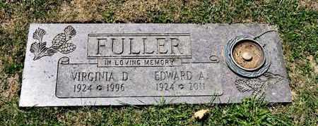 FULLER, VIRGINIA D - Richland County, Ohio | VIRGINIA D FULLER - Ohio Gravestone Photos