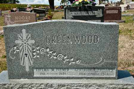 GREENWOOD, GERTRUDE I - Richland County, Ohio | GERTRUDE I GREENWOOD - Ohio Gravestone Photos