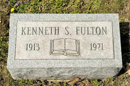 FULTON, KENNETH S - Richland County, Ohio | KENNETH S FULTON - Ohio Gravestone Photos
