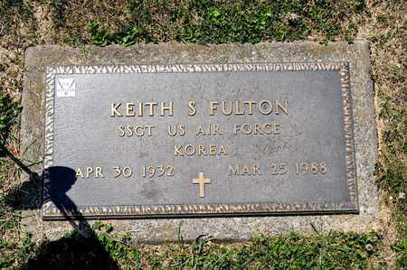 FULTON, KEITH S - Richland County, Ohio | KEITH S FULTON - Ohio Gravestone Photos