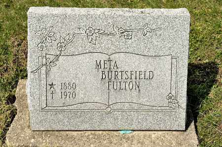 FULTON, META - Richland County, Ohio | META FULTON - Ohio Gravestone Photos