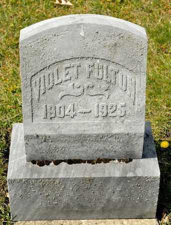 FULTON, VIOLET - Richland County, Ohio | VIOLET FULTON - Ohio Gravestone Photos