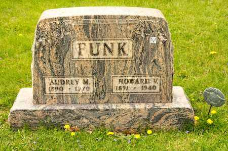 FUNK, AUDREY M - Richland County, Ohio | AUDREY M FUNK - Ohio Gravestone Photos