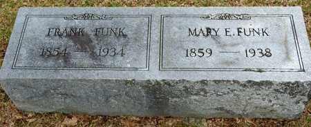 FUNK, MARY E - Richland County, Ohio | MARY E FUNK - Ohio Gravestone Photos