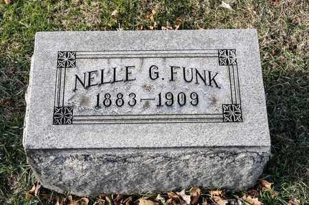 FUNK, NELLE G - Richland County, Ohio | NELLE G FUNK - Ohio Gravestone Photos