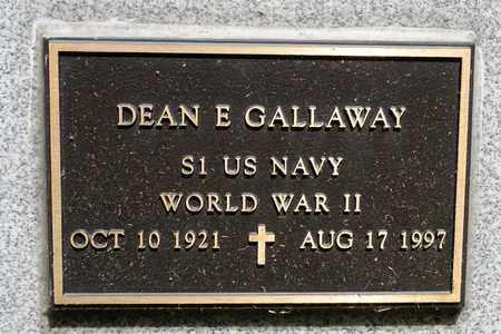 GALLAWAY, DEAN E - Richland County, Ohio | DEAN E GALLAWAY - Ohio Gravestone Photos
