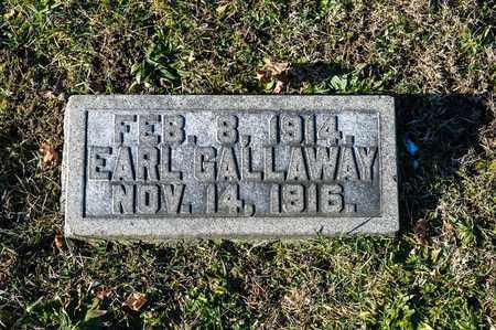 GALLAWAY, EARL - Richland County, Ohio | EARL GALLAWAY - Ohio Gravestone Photos