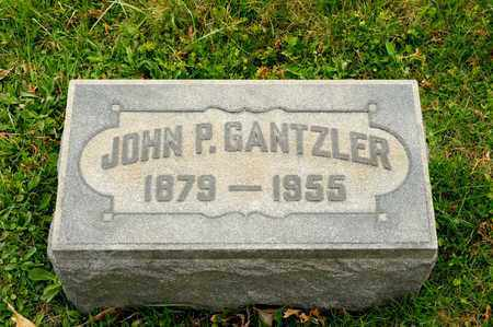 GANTZLER, JOHN P - Richland County, Ohio | JOHN P GANTZLER - Ohio Gravestone Photos