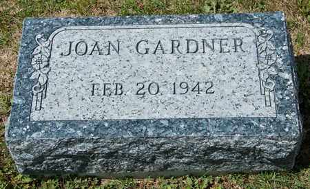 GARDNER, JOAN - Richland County, Ohio | JOAN GARDNER - Ohio Gravestone Photos