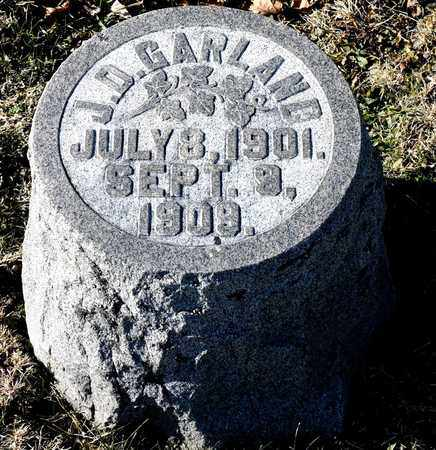 GARLAND, J D - Richland County, Ohio | J D GARLAND - Ohio Gravestone Photos