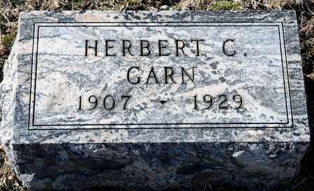 GARN, HERBERT C - Richland County, Ohio | HERBERT C GARN - Ohio Gravestone Photos