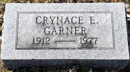GARNER, CRYNACE E - Richland County, Ohio | CRYNACE E GARNER - Ohio Gravestone Photos