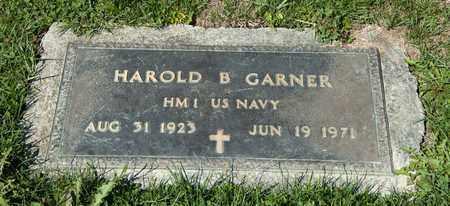 GARNER, HAROLD B - Richland County, Ohio | HAROLD B GARNER - Ohio Gravestone Photos