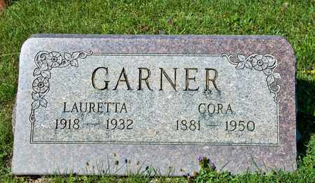 GARNER, LAURETTA - Richland County, Ohio | LAURETTA GARNER - Ohio Gravestone Photos