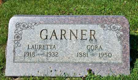 GARNER, CORA - Richland County, Ohio | CORA GARNER - Ohio Gravestone Photos