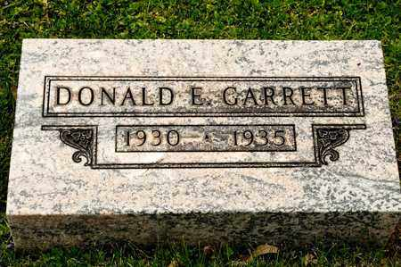 GARRETT, DONALD E - Richland County, Ohio | DONALD E GARRETT - Ohio Gravestone Photos