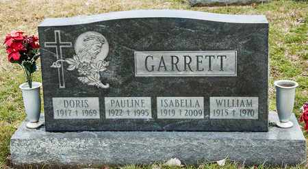 GARRETT, DORIS - Richland County, Ohio | DORIS GARRETT - Ohio Gravestone Photos