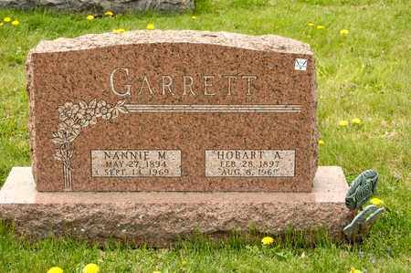 GARRETT, NANNIE M - Richland County, Ohio | NANNIE M GARRETT - Ohio Gravestone Photos