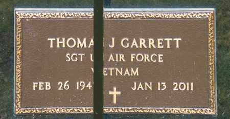 GARRETT, THOMAS JAMES - Richland County, Ohio | THOMAS JAMES GARRETT - Ohio Gravestone Photos